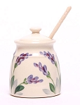 Emerson Creek Pottery's Lavender Honeycrock