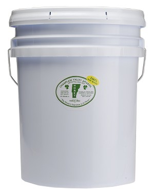 55 lb. Pail of Raw Naturally Crystallized Honey