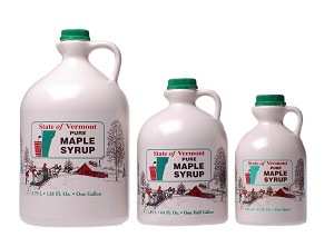 Bread Loaf View Farm's Pure Vermont Amber Rich Maple Syrup - 1 Gallon
